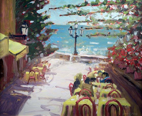 CAFE AT POSITANO